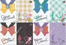 Sailor Moon - Mini Clearfile Folder SET of 4 - Uranus Neptune Pluto Saturn