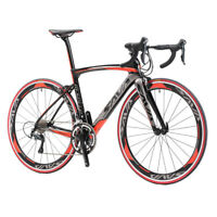 SAVA Road Bike 700C Carbon Road Bike Speed Carbon Bicycle with SHIMANO SORA 18S