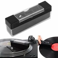 Vinyl Record Cleaning Brush Set LP Phonograph Antistatic Dust Spots Cleaner Kit-