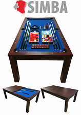 7 Ft Pool Table Billiard Playing Game billiards Blue Sky with coverage plan