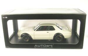 Nissan (KPGC-10) Racing (White) 1972 1:18 AUTOART