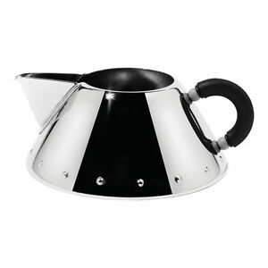 Alessi Michael Graves Design Series Stainless Steel Creamer - Black