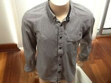 Paul Frank Designer Long Sleeve Casual Check Shirt Size S Free Post