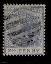 NIGERIA - Lagos SG31b, 2½d blue, USED. Cat £50.