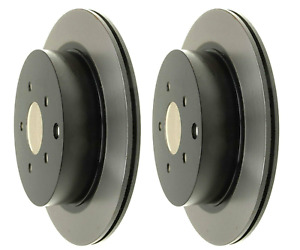 SET OF 2 ACDELCO 18A1665 VENTED REAR BRAKE ROTORS FOR NISSAN PATHFINDER 13-17