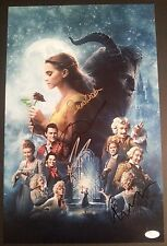 BEAUTY AND THE BEAST Cast(x4) Authentic Signed EMMA WATSON 11x17 Photo (JSA COA)