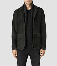 New ALLSAINTS Emerson Leather Blazer Coat Jacket Men's Small $650 Survey