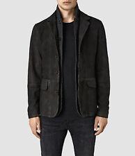 New ALLSAINTS Emerson Leather Blazer Coat Jacket Men's Small $650 Survey