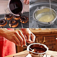 Kitchen Double Boiler Stainless Steel Chocolate Butter Melting Pot Pan Milk Bowl