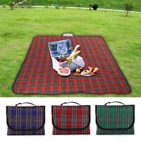 Extra Large 200/130x150cm Waterproof Picnic Rug Travel Outdoor Beach Camping Mat