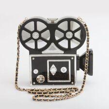 Women's Small Clutch Unique Camera Shaped Design Acrylic Female Evening Mini Bag