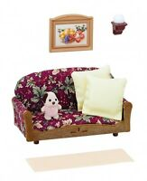 Sylvanian Families Furniture Doll Accessory Living Room Sofa F/S From Japan