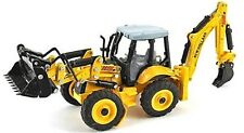 New Holland B115B  Backhoe Big Wheel Digger 1/87th Scale Yellow/Black - T48 Post