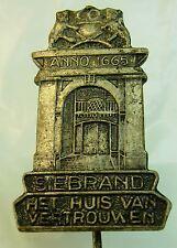 Het Huis van Vertrouwem Siebrand used Hat Lapel Pin Tie Tac HP2145