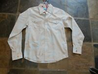 Size S Quiksilver Mens Slim Fit LS Shirt NWT RRP $89.95