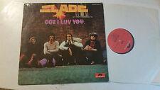 SLADE COZ I LUV YOU VINYL LP original germany 1972 vinyl import rare glam rock!!