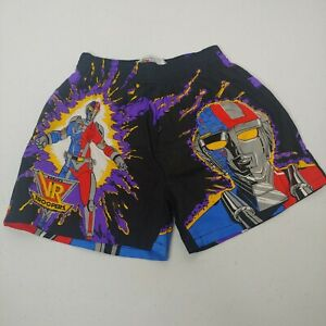 Vintage Saban's VR Troopers Boys Large 8-10 Boxer Shorts Black Underwear NWOT