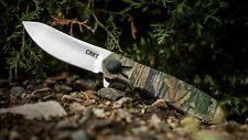 Couteau CRKT Homefront Hunter Camo Lame Acier 1.4116 Manche GRN Liner CRK265CXP