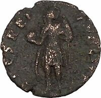 CONSTANTIUS II son of Constantine the Great with globe Ancient Roman Coin i42692