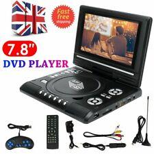 "7.8"" Portable DVD Player Digital Multimedia Player Thin U-Disk FM HD TV Game UK"