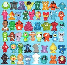 Gogos Crazy Bones - 50 Random Gogo Figures - No Duplicates