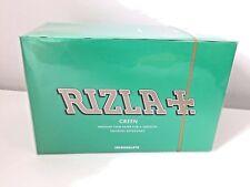100 x Rizla Green Medium Thin Rolling Papers Original Full box