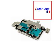Pour Samsung Galaxy S3 SIII I9300 Nappe Lecteur SIM+SD Avec Plaque de fixation