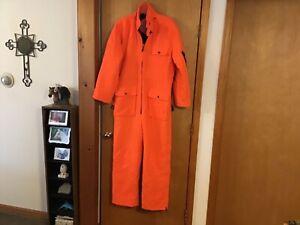 Winchester Men's M Blaze Orange Insulated Workwear Coveralls  #IB-13