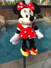 Disney Minnie Mouse Plush Backpack Coin Purse