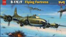 HONG KONG MODELS 1/32 PLASTIC MODEL KIT B17E/F FLYING FORTRESS HKM01E05