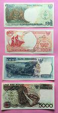 INDONESIE 5000 RUPIAH 1992 /1000 RUPIAH 1992 et AUTRES - 4 BILLETS - NEUFS / UNC