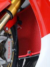 Honda CBR1000RR Fireblade 2012 R&G Racing Radiator Guard RAD0065RE Red