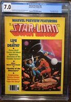 Marvel Preview #18 Star Lord CGC 7.0