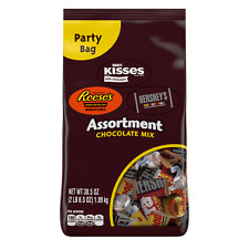 HERSHEY'S ASSORTMENT CHOCOLATE CANDY PARTY BAG - 38.5 oz.