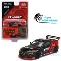 Mini GT 1:64 Pandem Toyota GR Supra V1.0 Advan SEMA 2019 (Red/Black) #207