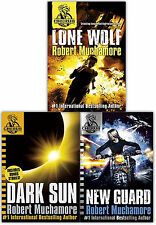 Robert Muchamore Cherub Collection 3 Books Set Lone Wolf, New Guard, Dark Sun
