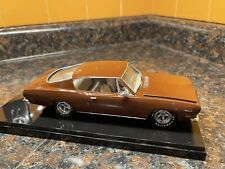 Brown 1969 Plymouth Cuda 1:25 Model Kit Adult Built With Display Case