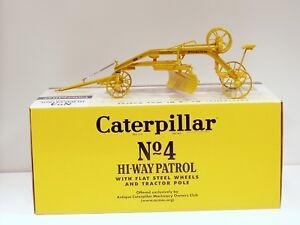 Caterpillar No.4 Hi-Way Patrol Grader - 1/16 - Spec Cast  #CUST1105