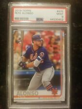 2019 Topps #475 Pete Alonso New York Mets RC Rookie PSA 9 MINT Series 2