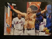 2020 Topps Series 1 PETE ALONSO SP SHORT PRINT IMAGE PHOTO VARIATION METS RARE