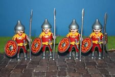 Playmobil 4 Mongols Warrior Knight 3666 3667