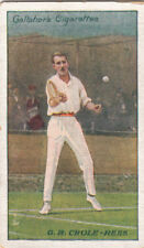Gordon Rhind Oak Crole-Rees Player British Tennis UK IMAGE OLD CARD