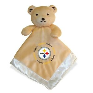 Pittsburgh Steelers Baby Security Bear Blanket, NFL Officially Licensed, 14X14