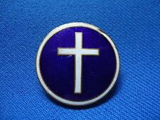 PORTUGAL PORTUGUESE MOCIDADE PRIESTER PADRE PATHER CHAPLAIN VINTAGE BADGE 27mm