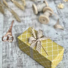 Caramel Cream Dotty Ribbon 100M 15mm Jane Means Wedding Spotty Beige Nude Autumn