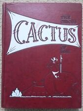 1957 UNIVERSITY OF TEXAS YEARBOOK - THE CACTUS - FREE SHIPPING !!
