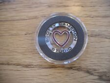 2010 Scotty Cameron Titleist Valentines Heart Coin Ball Marker Rare New PGA