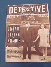 Détective 1949 154 VOLLORE VILLE LE COUDRAY-MONTCEAUX VILLEGAUDIN BOUGEROT GERGY