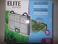 Elite Hush 55 Replacement Carbon Cartridges A-93 5-pk
