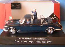 LANCIA FLAMINIA 1961 PRESIDENZIALE PRES. D. REP. NAPOLITANO ROME 2009 STARLINE